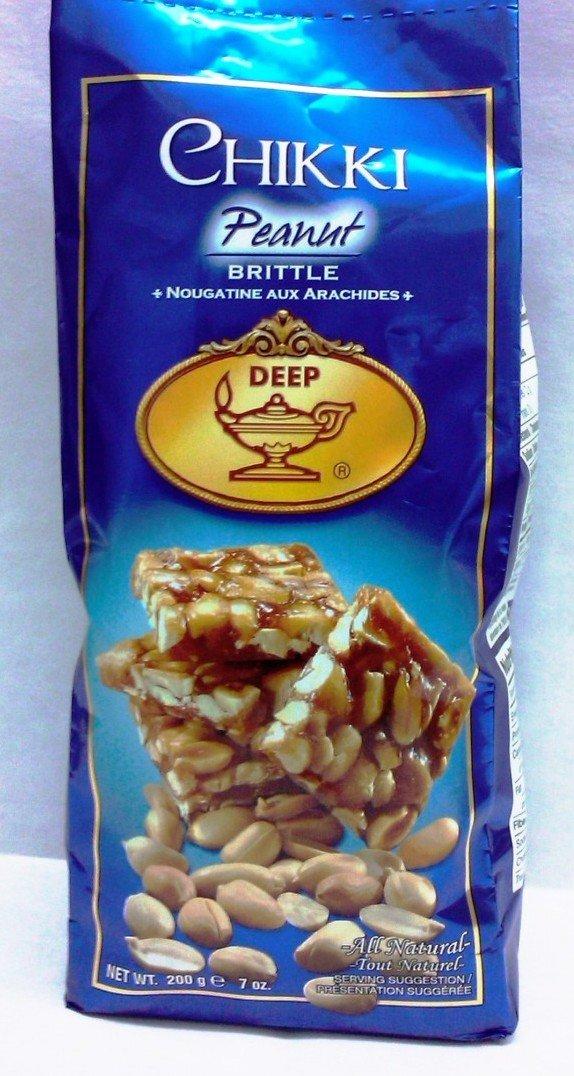 Deep Peanut Chikki (Brittle) 200g (Pack of 3)