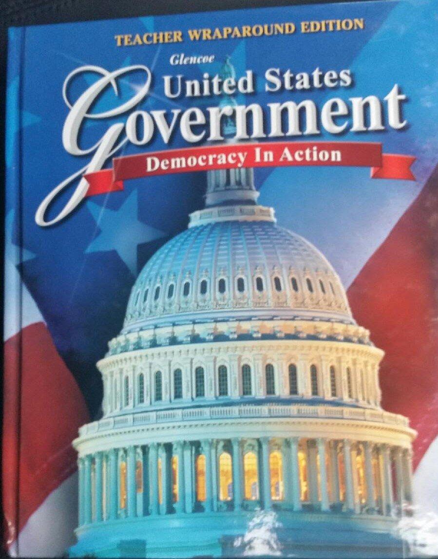 United States Government: Democracy in Action, Teacher Wraparound Edition:  Remy: 9780078909085: Amazon.com: Books