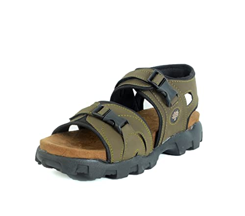 a2e3e60dd Shoegaro Green Suede Sport Sandals For Men  Buy Online at Low Prices in  India - Amazon.in