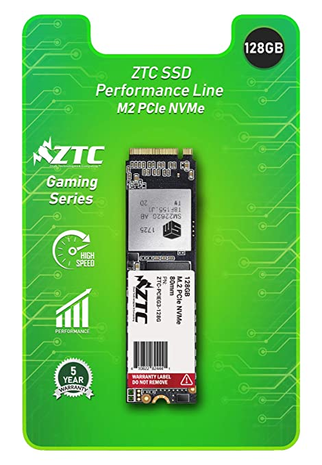 ZTC 128GB M 2 NVMe PCIe 80mm SSD Astounding Performance and High-Endurance  Great Upgrade for Gaming Model ZTC-PCIEG3-128G