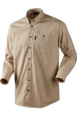 Seeland NIGEL Camisa de cuadros - Disponible en 3 Colores - m-3xl (TIRO / CAZA) - Verde, Large: Amazon.es: Deportes y aire libre