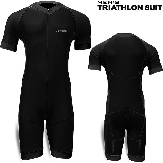 1 opinioni per Tuta uomo per triathlon- ciclismo, corsa, nuoto- Tuta imbottita a compressione