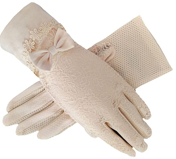 Cottagecore Clothing, Soft Aesthetic Womens Bridal Wedding Lace Gloves Derby Tea Party Gloves Victorian Gothic Costumes Gloves $8.89 AT vintagedancer.com