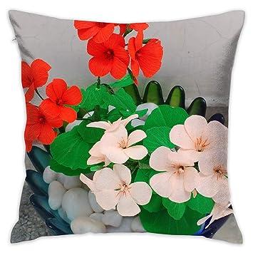Amazon.com: WQBZL - Cojín decorativo para sofá, diseño de ...