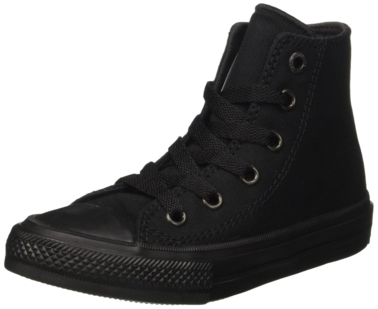 d7101a2d0c1e Amazon.com | Converse Chuck Taylor All Star Ii Hi Sneaker Kid's Shoes Size  2 Black | Fashion Sneakers