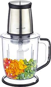 Brentwood Appliances FP544S 300-Watt 4-Blade 6.5-Cup Food Processor, Silver