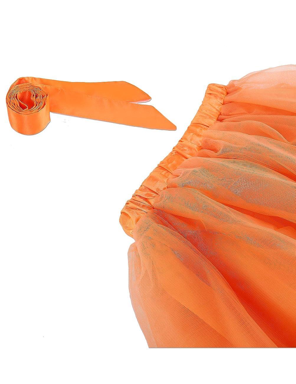 Dresstells Gonna Tulle Sottogonna Balletti Petticoat Tutu con Cintura per Festa Party