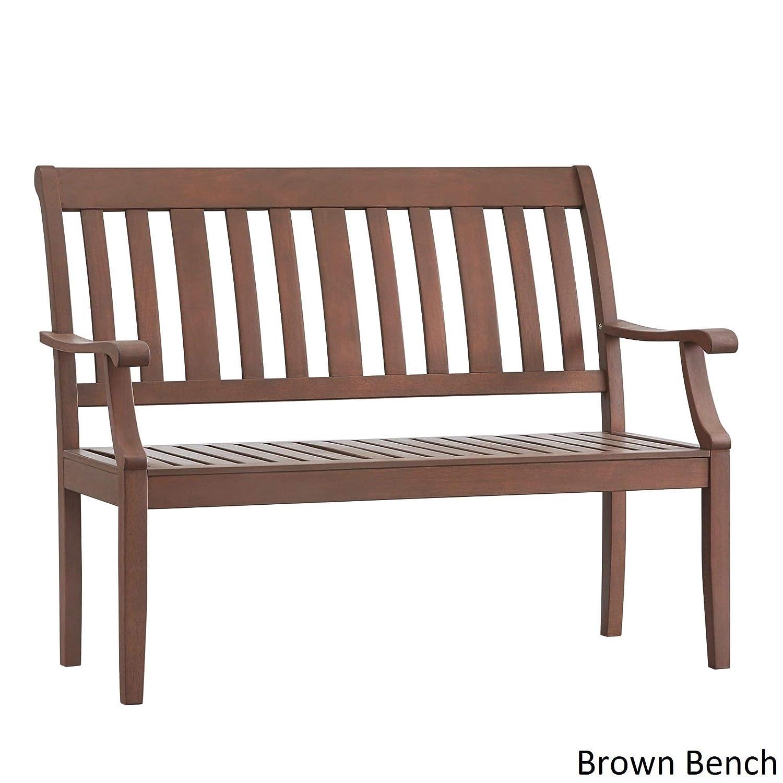 Inspire Q Yasawa Rail de madera al aire libre banco de ...