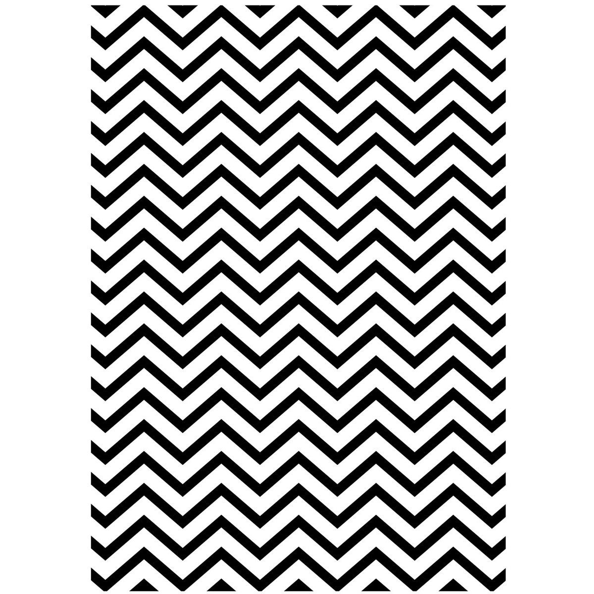Darice 1218-96 Embossing Folder, 5 by 7-Inch, Chevron Background Design