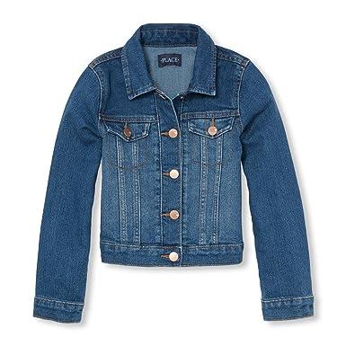 9c8555fc1 Amazon.com  The Children s Place Girls  Denim Jacket  Clothing