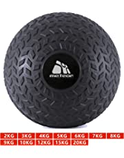 Meteor 1-20KG Dead Bounce Slam Ball with Thick Sheel for Explosive Strength, Crossfit Training, Muscle Growth, Workout, Resistance, Endurance, Agility, Gym, Home, Exercise