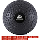 Dead Bounce Slam Ball with Thick Sheel for Explosive Strength, Crossfit Training, Muscle Growth, Workout, Resistance, Endurance, Agility, Gym, Home, Exercise
