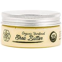 USDA Certified Organic Shea Butter: Highest Quality Unrefined Rare Nilotica, Certified...