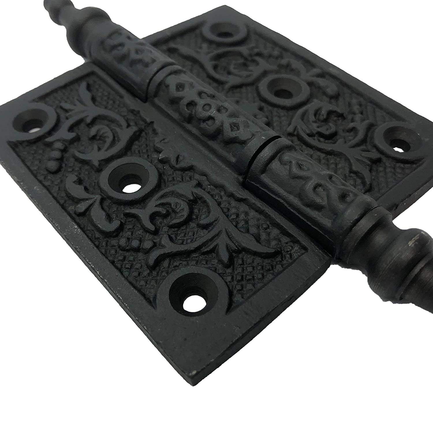 cabinets Antique Style Iron Hinge for Doors Iron Hinge 2 Ornate Iron Victorian Hinges barn Door Hinges 6 HG-101 Gates