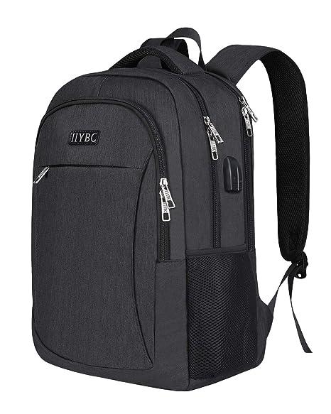 44cab4ec66b0 Amazon.com: Business Laptop Backpack,IIYBC Anti-Theft Travel ...