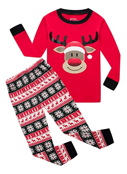 Amazon.com: Juego de pijamas de manga corta para niñas y ...