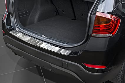 Zic Motorsports Brushed Stainless Steel Rear Bumper Protector Guard For 2015 2017 Bmw X3 F25 Facelift