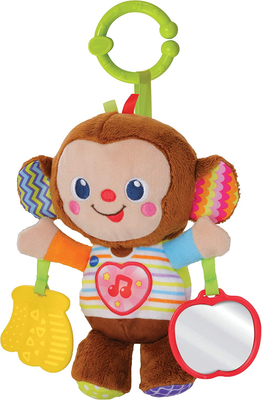 Multicolor 513403 VTech- Swing /& Sing Monkey Juguete Preescolar 1.7x1.65x1.2cm
