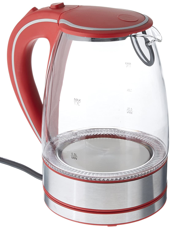 Amazon.com: Rojo 50 onzas Brentwood kt-1900r Royal vidrio ...