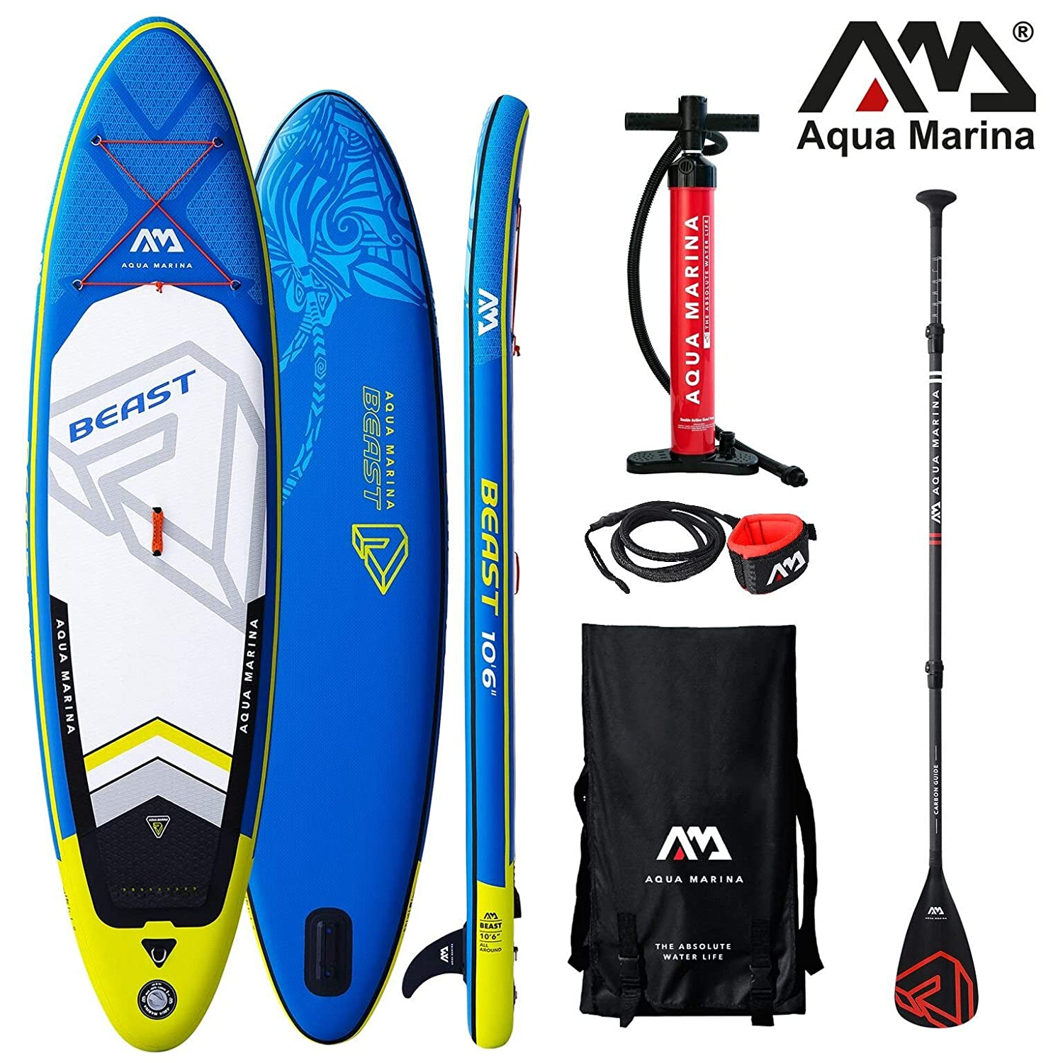 Aqua Marina Beast 2019 Sup Board Hinchable Stand Up Paddle Tabla ...