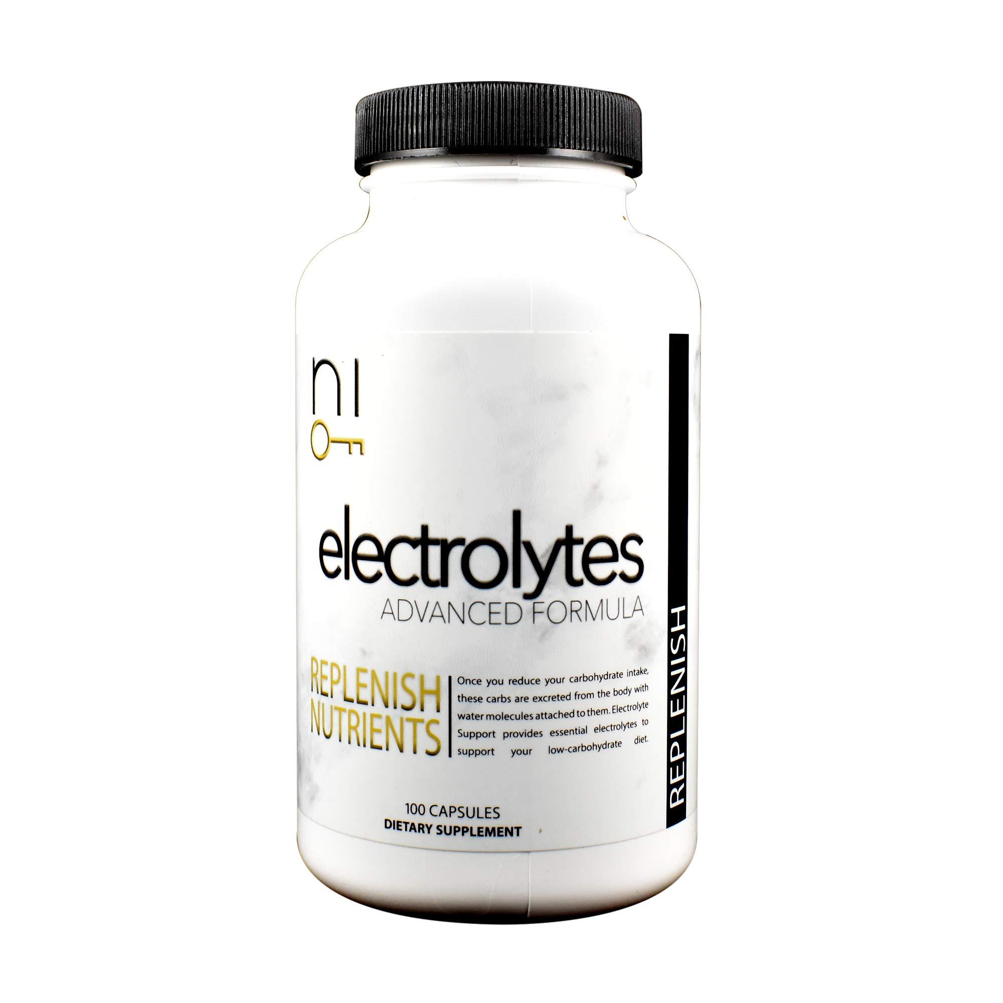 niKETO Replenish (Electrolyte Support) - Replenish Nutrients - Eliminate''Keto Flu''