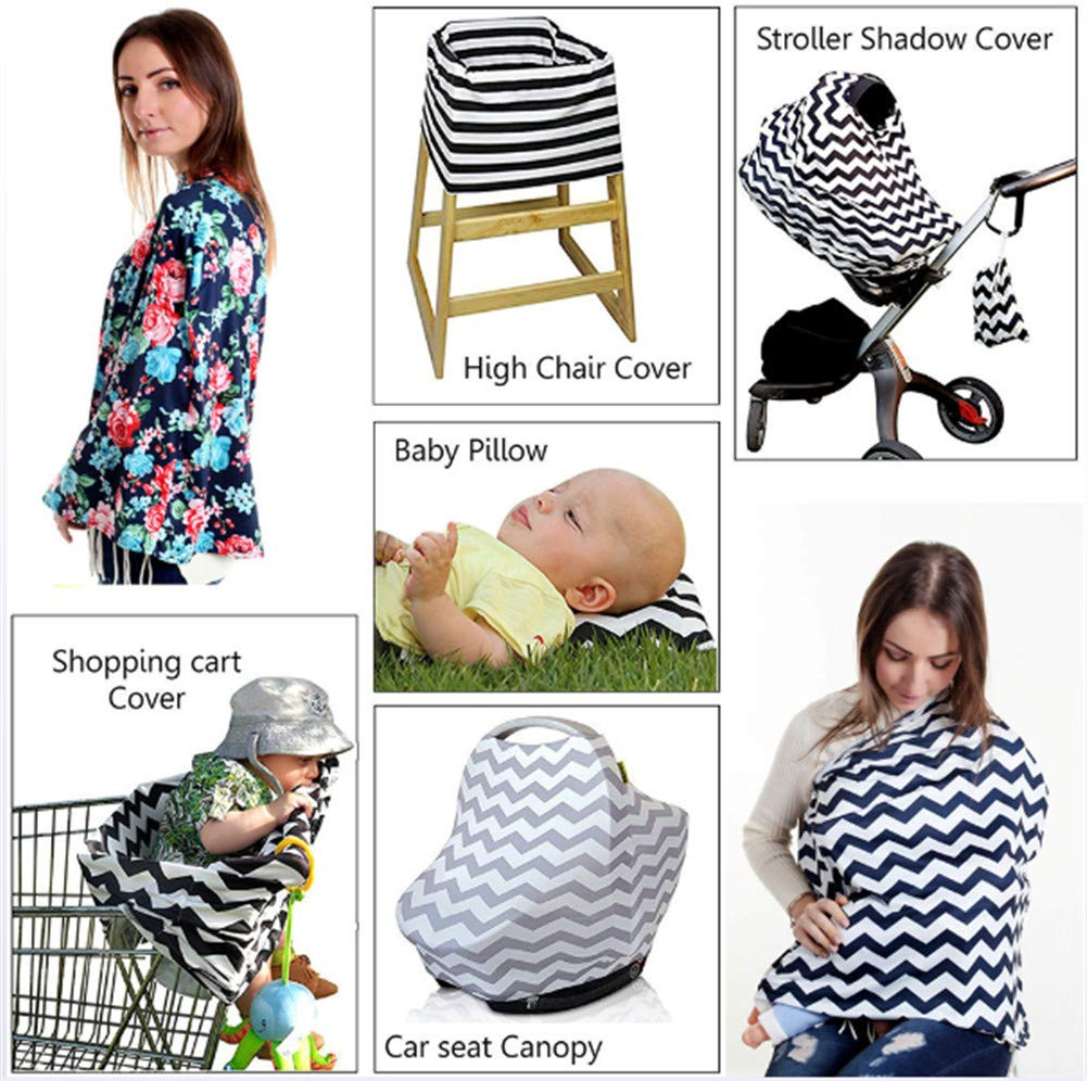 Luckme Baby Breastfeeding Nursing Shawl Multifunktionsauto Seat