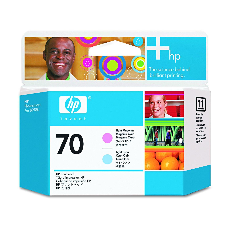 HP Testina 70 Ciano Chiaro-Mag.Chiaro Hewlett Packard C9405A Consumabili stampanti InkJet Cartucce