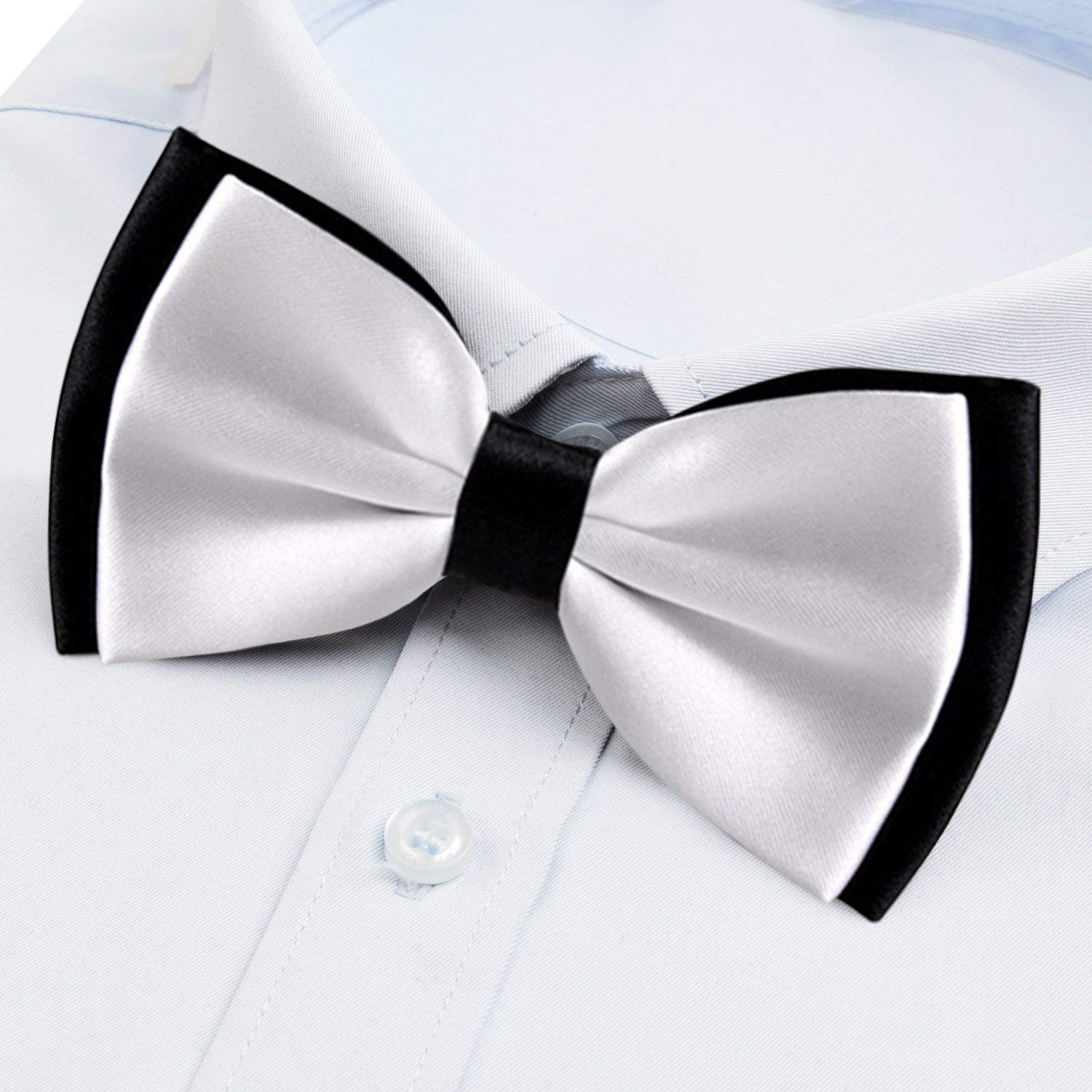 Adjustable Bowtie Outer Space Galaxy Stary COLORFULSKY Fashion Elegant Pre-Tied Bow Tie for Men /& Boys