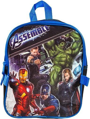 Marvel Avengers 12 Toddler Backpack Detachable Utility Bag