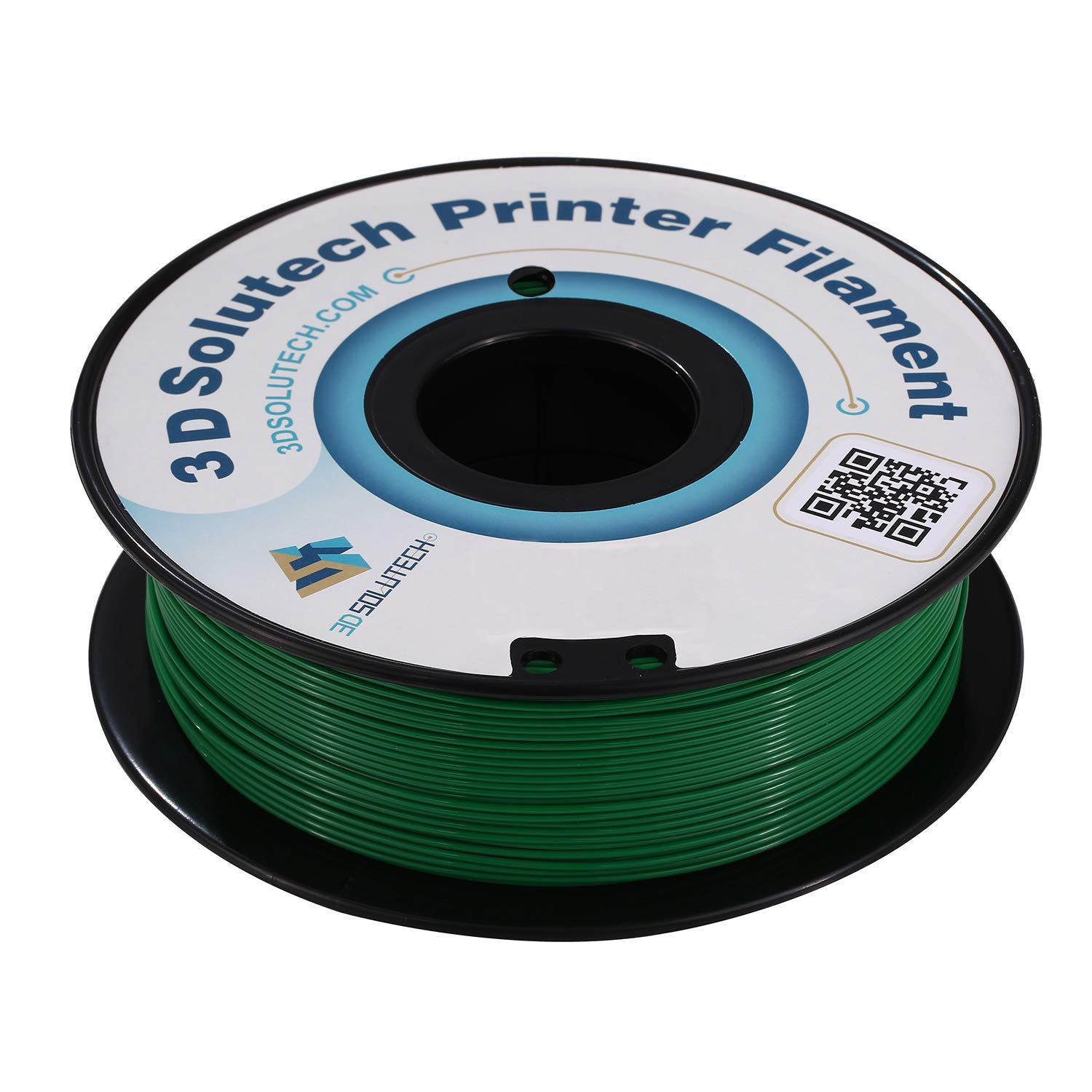 3D Solutech Real Green 3D Printer PLA Filament 1.75MM Filament, Dimensional Accuracy +/- 0.03 mm, 2.2 LBS (1.0KG)