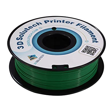 Amazon.com: 3d solutech Real Verde 1.75 mm ABS Filamento ...