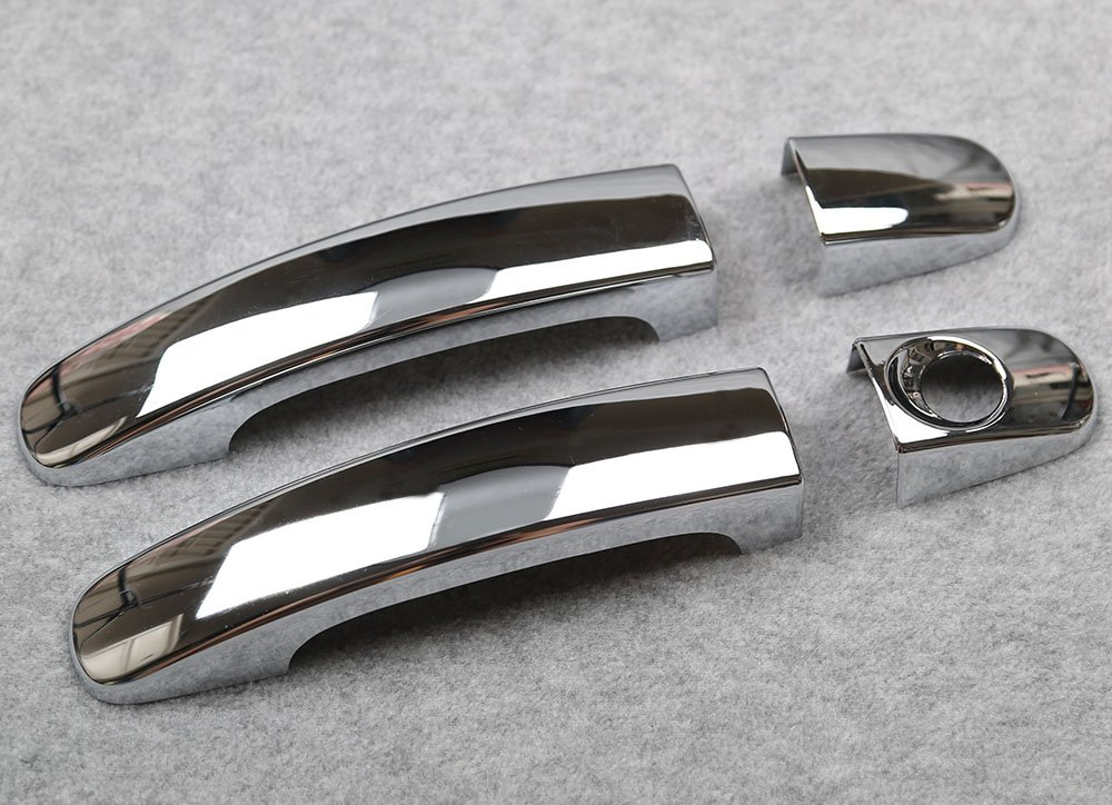 Generic ABS Chrome Door Handle Cover Trims Fit For Ford Escape Kuga 2014 2015 2016 2017
