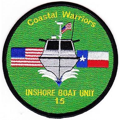 IBU-15 Inshore Boat Unit Fifteen Coastal Warriors Patch