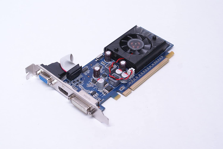 Genuine Dell Vostro 420 High Profile VGA, DVI, HDMI Pegatron VUI-G310DE Video Graphics Card, nVidia GeForce G310 512MB PCI-E, Compatible Part Numbers FTGGG, M114N, G31DE
