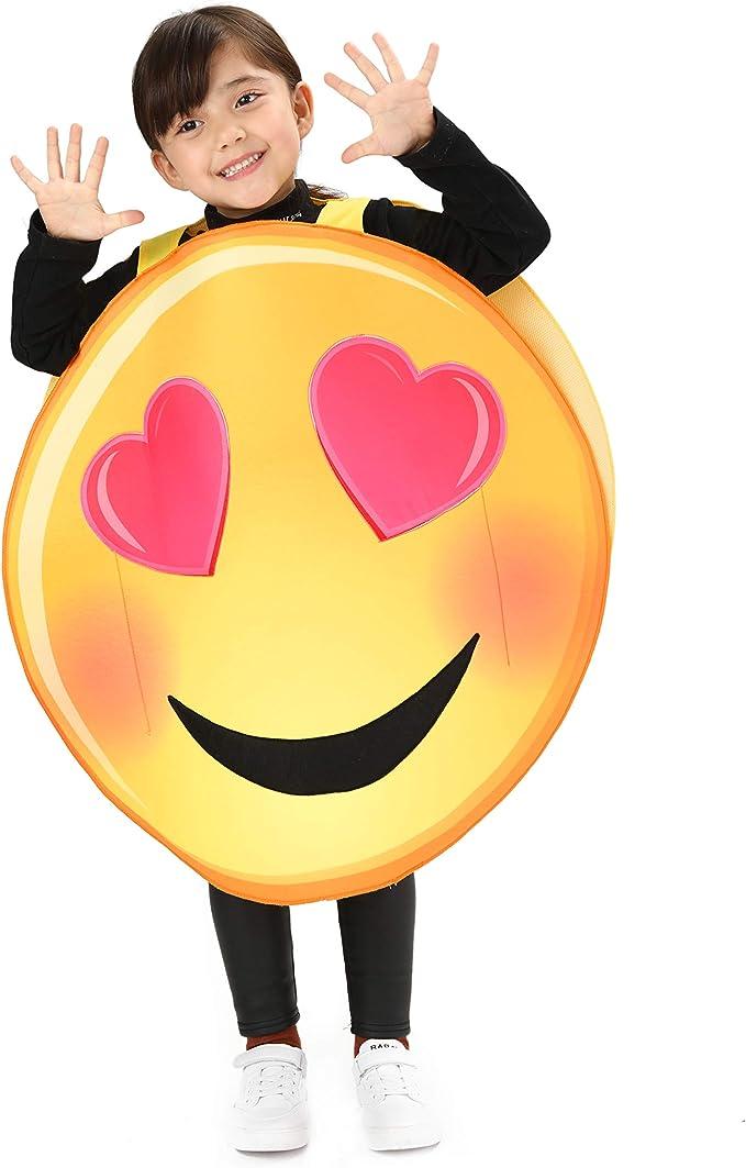 Funny Emoji Pooper Poop Emoticon Kids Girls Boys Child Book Week Fancy Costume