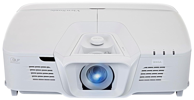 Viewsonic PRO8800WUL Business DLP Projektor (WUXGA, 5.200 ANSI Lumen, 4x HDMI, 2x 10 Watt Lautsprecher, 1.6x optischer Zoom, Lens-Shift) Weiß Lens-Shift) Weiß