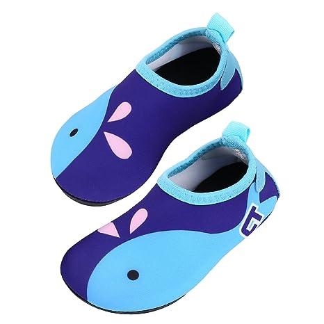 Tagvo Zapatos de Agua Baby Girl Girl, Zapatos de natación de Calcetines Aqua Swim Calzados