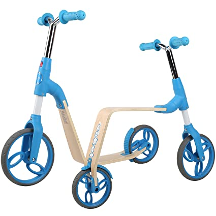 Vokul Gh03 2 en 1 Balance Ride-on Bicicleta sin pedales ...