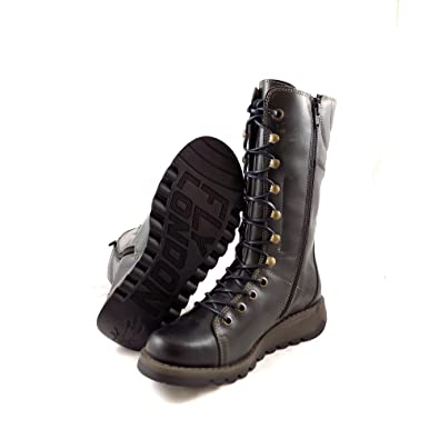040206ea49666 Women's Fly London Ster Mid-Calf Lace Up Boot EU 38 / UK 5 Diesel:  Amazon.co.uk: Shoes & Bags