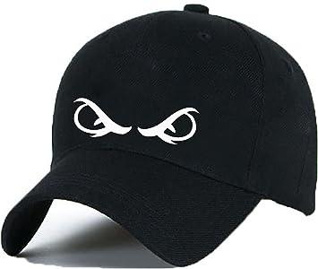 Gorra de béisbol con dibujo de Ojos, gorra con una lengüeta ajustable de plástico, hip-hop: Amazon.es: Coche y moto