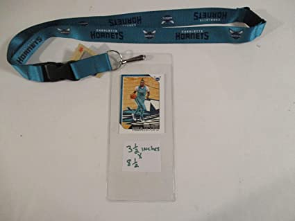 promo code e651f 356fc CHARLOTTE HORNETS OFFICIAL LANYARD WITH TICKET HOLDER PLUS ...