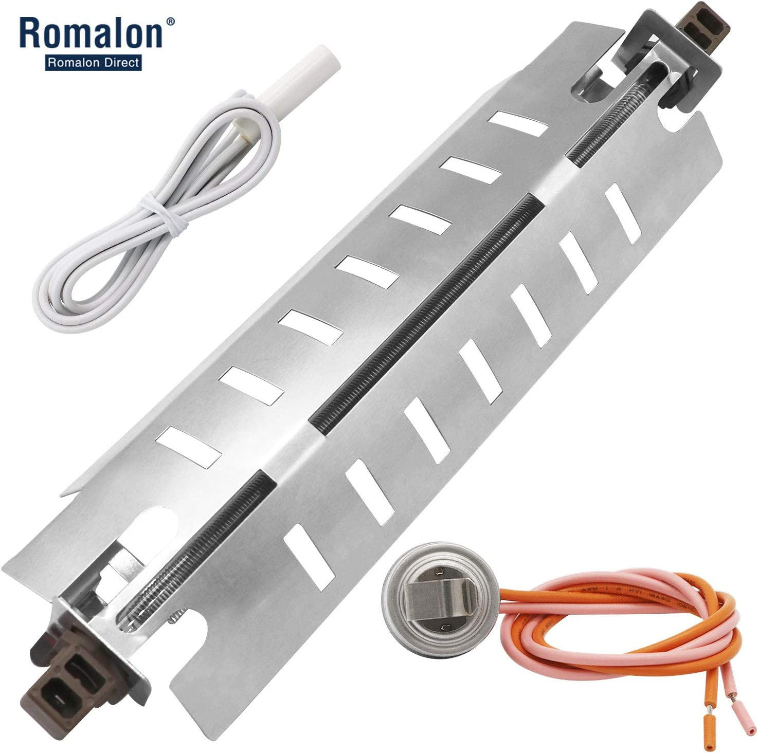 WR51X10055 Refrigerator Defrost Heater&WR55X10025 Temperature Sensor&WR50X10068 Defrost Thermostat Kit Compatible With General Electric&Hotpoint By Romalon
