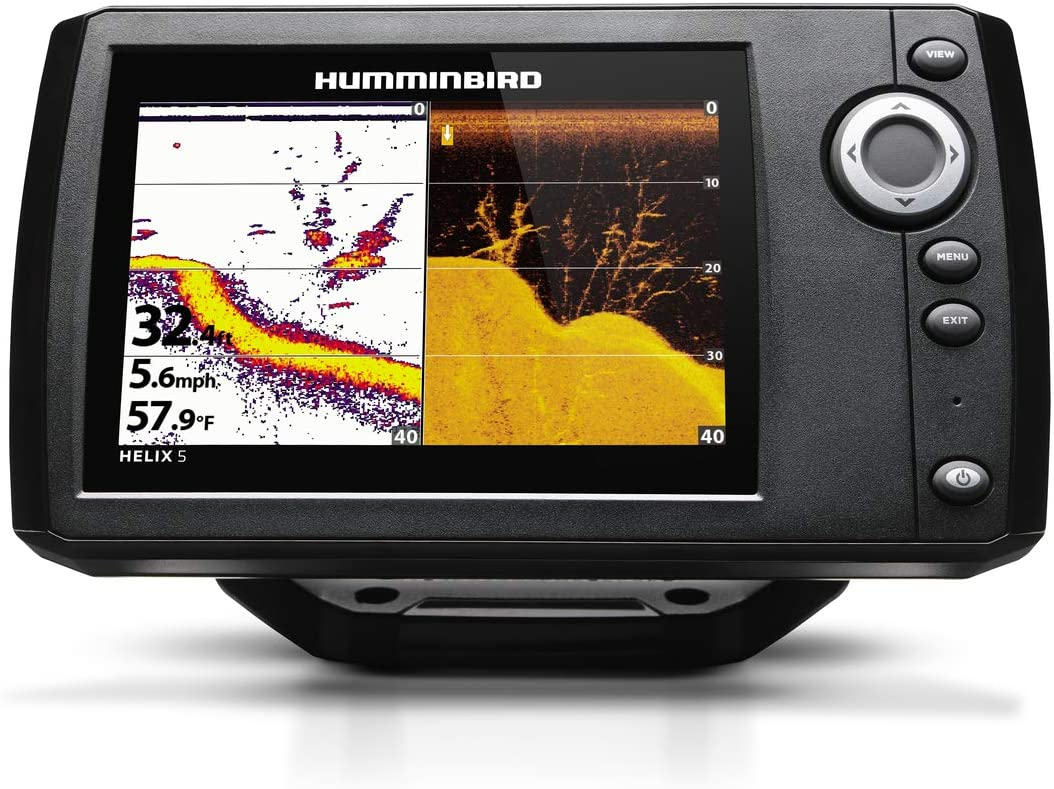 Humminbird 410200-1 Helix 5 DI G2 Sonar Fish Finder