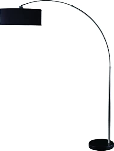 Coaster Home Furnishings Hanging Floor Lamp Black and Chrome