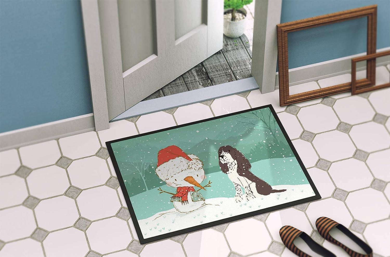Carolines Treasures Welcome Friends German Shepherd Doormat 18hx27w Multicolor
