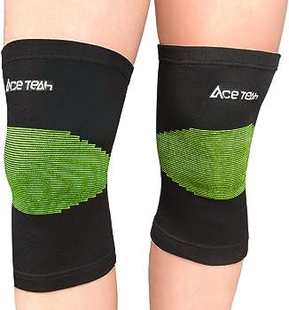 Ace Teah Knee Brace Compression Sleeve 2-Pack