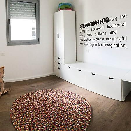Creativity Definition Vinyl Lettering Wall Decal Wall Words Vinyl