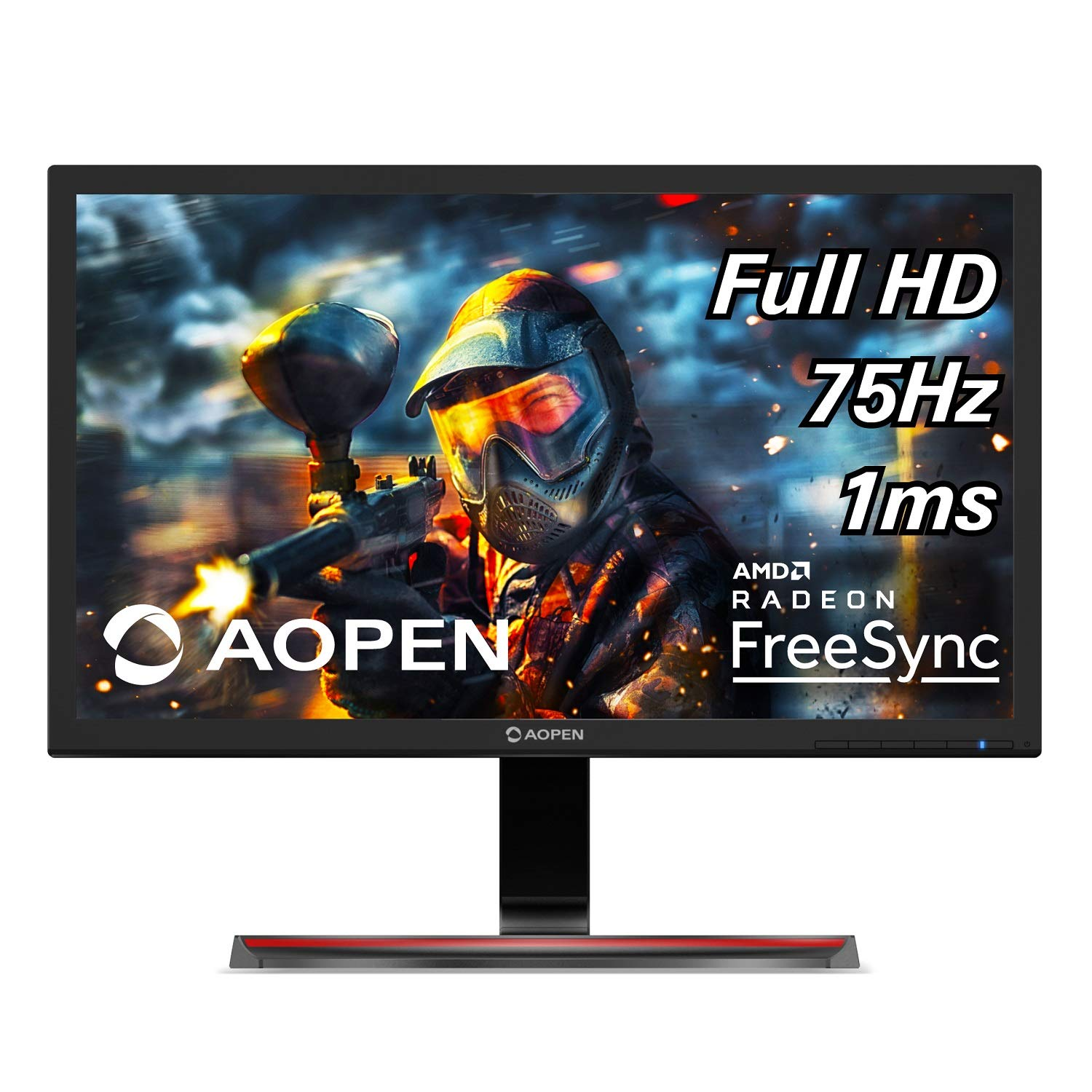 AOPEN 24MX1 bii 24-inch Full HD 1920 x 1080 Gaming Monitor with AMD Radeon FreeSync Technology 2 x HDMI VGA Port