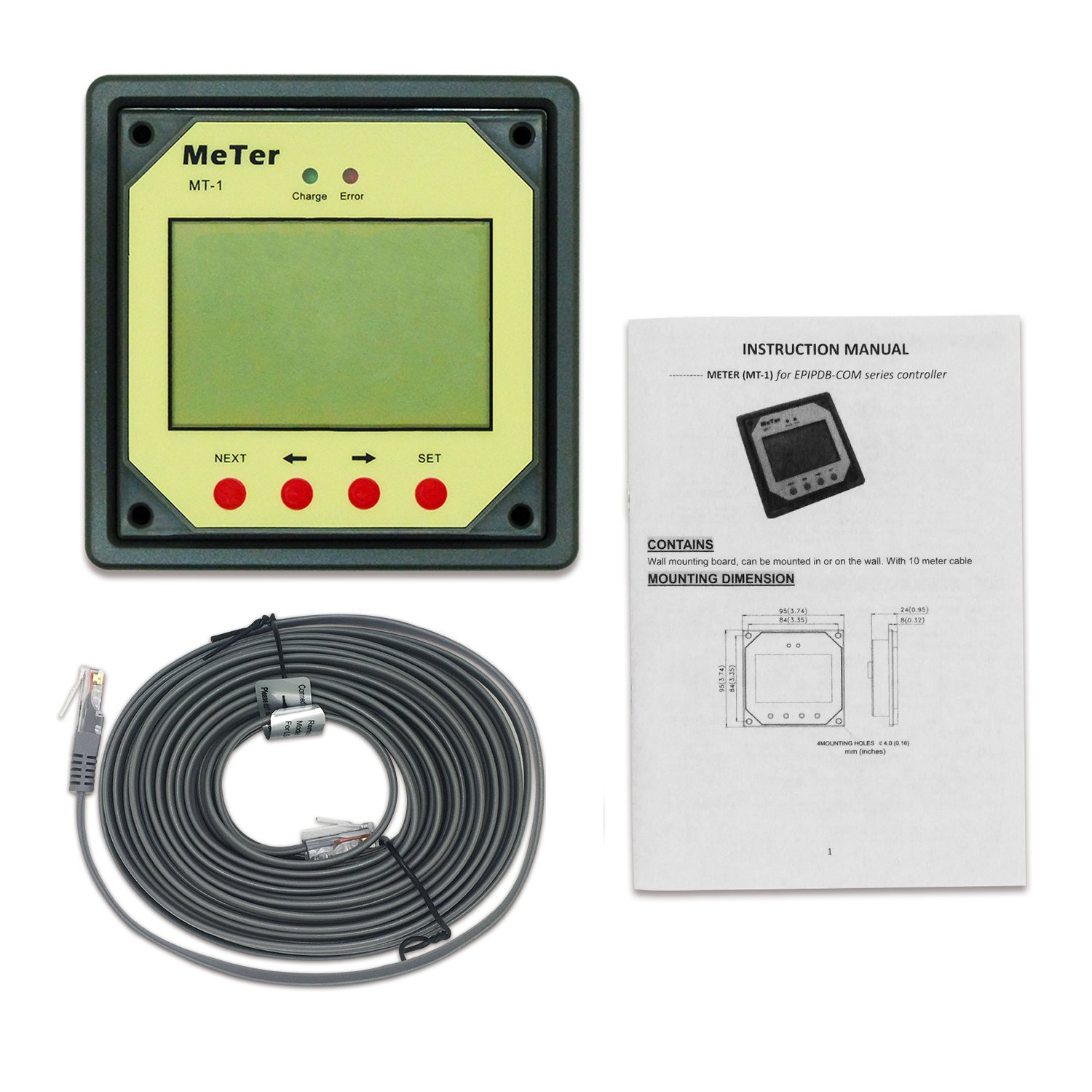 EPSOLAR Fernbedienung Meter (mt-1) fü r epipdb-com Serie Controller Beijing EPsolar Technology CO. LTD.