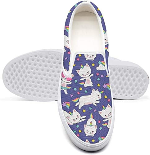 Amazon.com | Womens Yellow Ninja Stars and Cats Casual ...